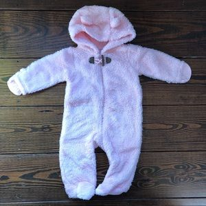 Carter's 3-6mos Sherpa Hooded Bunting